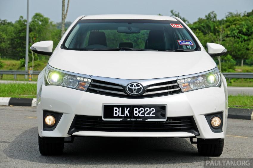 DRIVEN: 2014 Toyota Corolla Altis 2.0V on local roads Image #222438