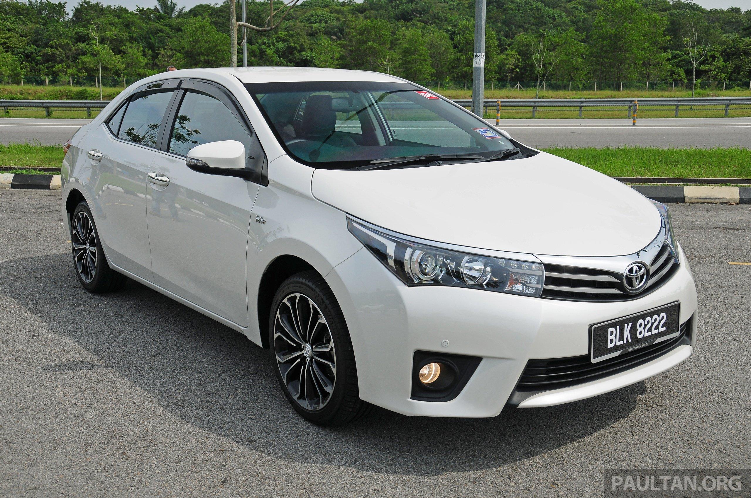 Driven 2014 Toyota Corolla Altis 2 0v On Local Roads