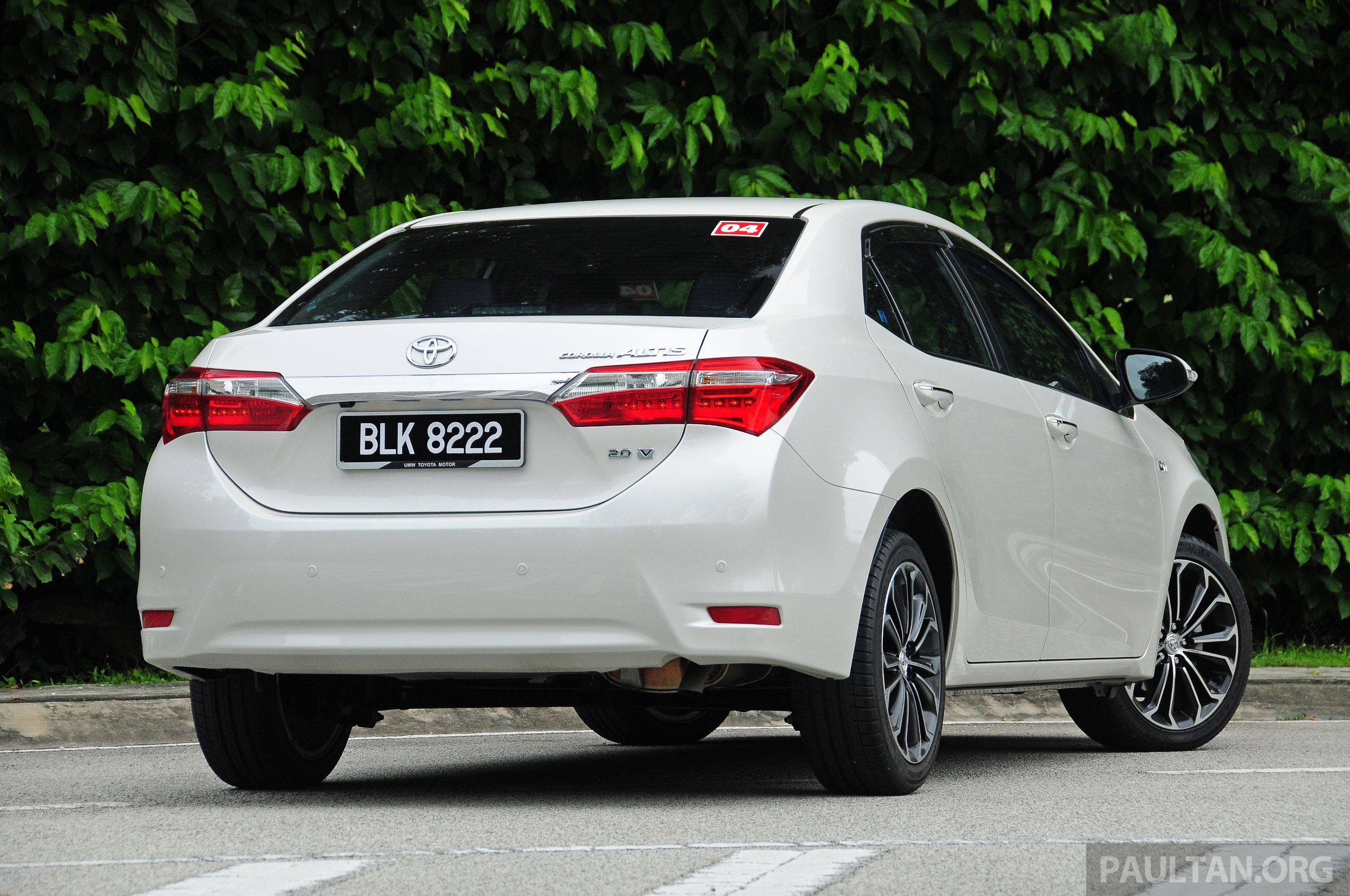 Back to Story: DRIVEN: 2014 Toyota Corolla Altis 2.0V on local roads