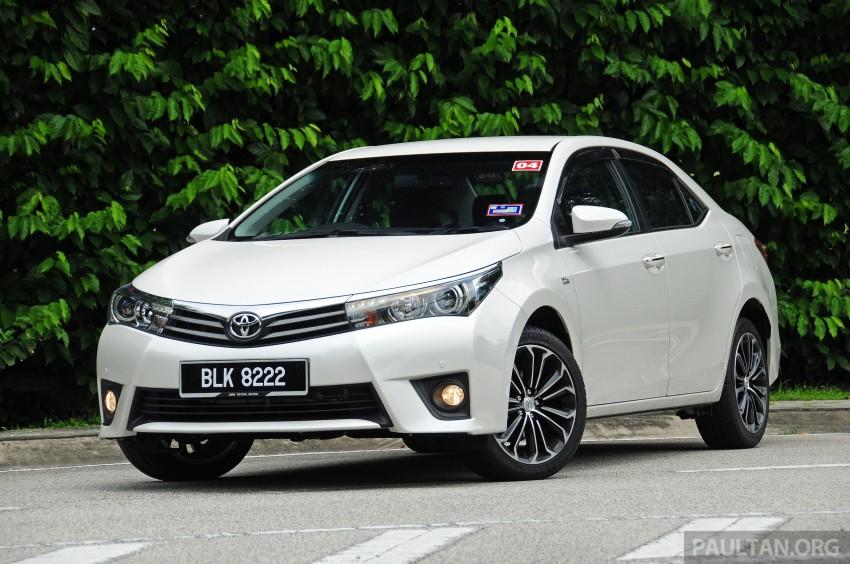 DRIVEN: 2014 Toyota Corolla Altis 2.0V on local roads Image #222445