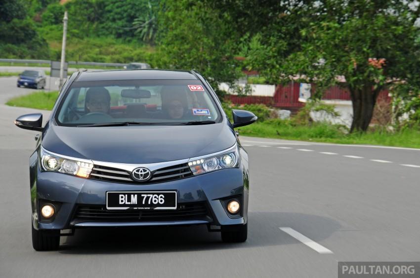 DRIVEN: 2014 Toyota Corolla Altis 2.0V on local roads Image #222449