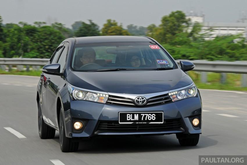 DRIVEN: 2014 Toyota Corolla Altis 2.0V on local roads Image #222451