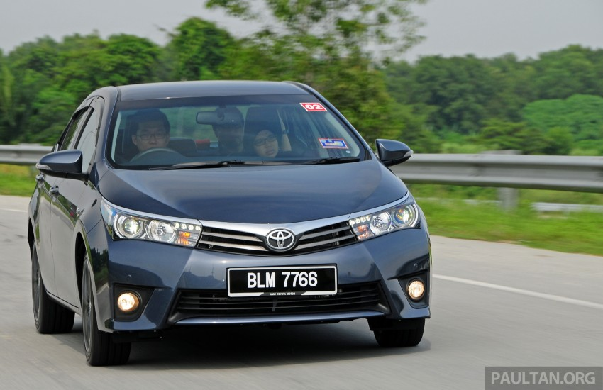 DRIVEN: 2014 Toyota Corolla Altis 2.0V on local roads Image #222452