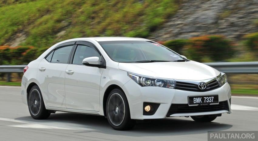 DRIVEN: 2014 Toyota Corolla Altis 2.0V on local roads Image #222455