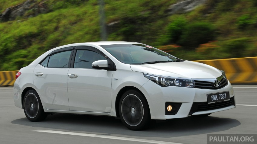 Driven 2014 Toyota Corolla Altis 2 0v On Local Roads Paul