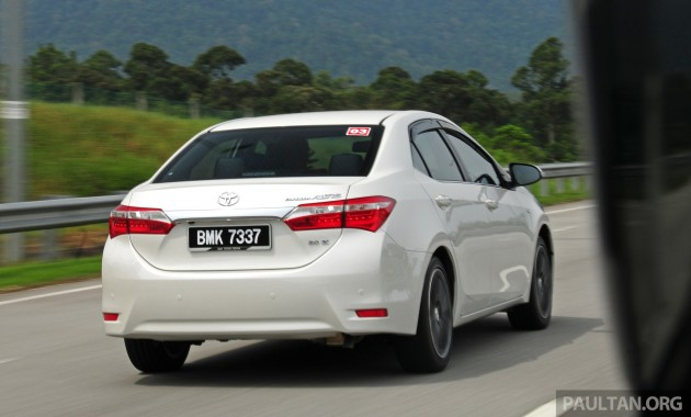 DRIVEN: 2014 Toyota Corolla Altis 2.0 V Malaysian review
