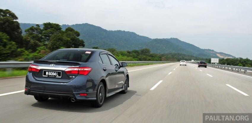 DRIVEN: 2014 Toyota Corolla Altis 2.0V on local roads Image #222460