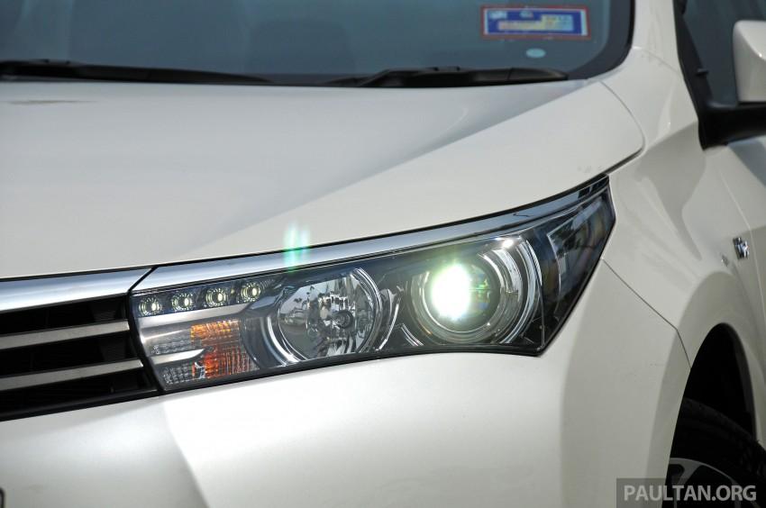 DRIVEN: 2014 Toyota Corolla Altis 2.0V on local roads Image #222476