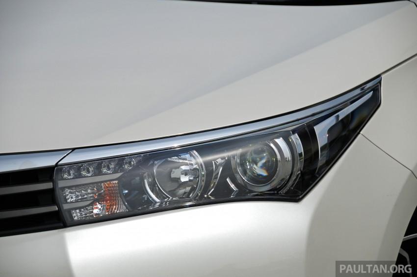 DRIVEN: 2014 Toyota Corolla Altis 2.0V on local roads Image #222480
