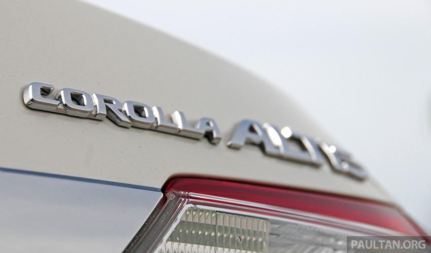 DRIVEN: 2014 Toyota Corolla Altis 2.0V on local roads Image #222500