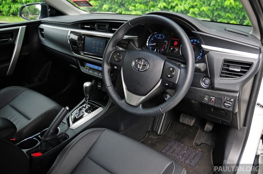 DRIVEN: 2014 Toyota Corolla Altis 2.0V on local roads Image #222510