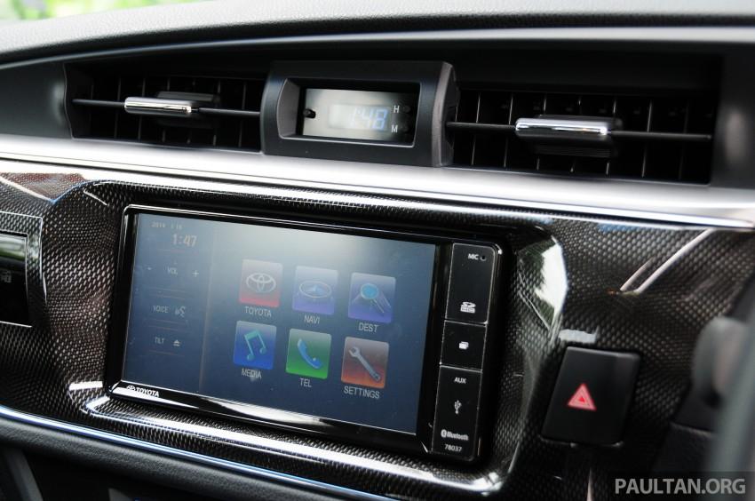DRIVEN: 2014 Toyota Corolla Altis 2.0V on local roads Image #222515