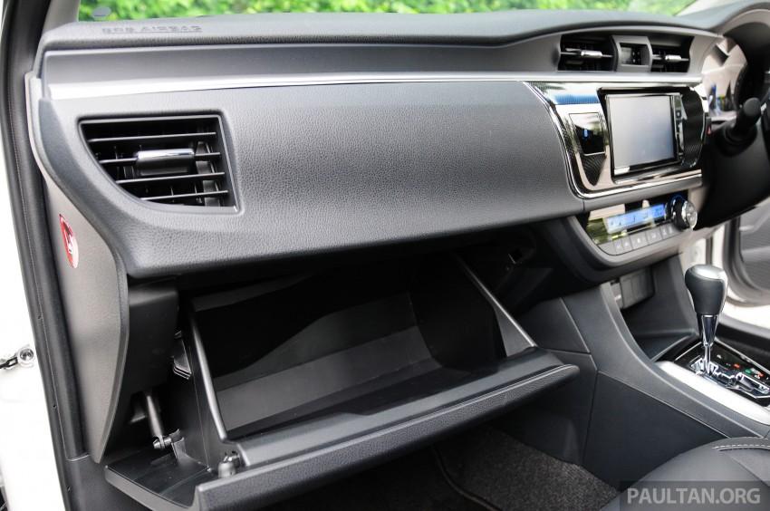 DRIVEN: 2014 Toyota Corolla Altis 2.0V on local roads Image #222517