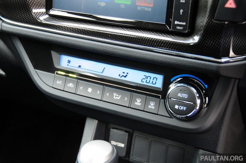 DRIVEN: 2014 Toyota Corolla Altis 2.0V on local roads Image #222521