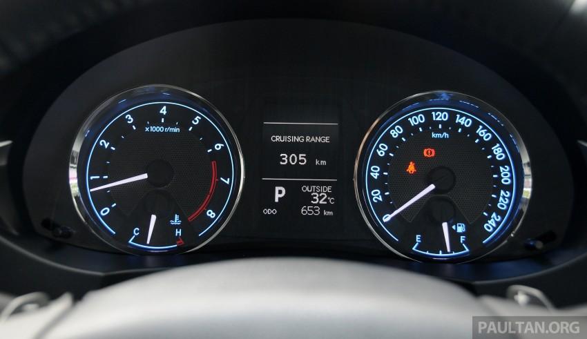 DRIVEN: 2014 Toyota Corolla Altis 2.0V on local roads Image #222531