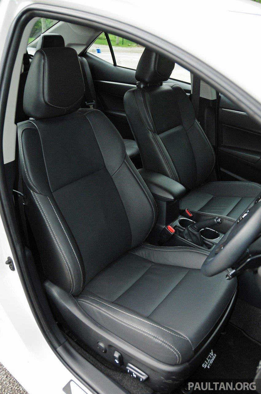 DRIVEN: 2014 Toyota Corolla Altis 2.0V on local roads Image #222538