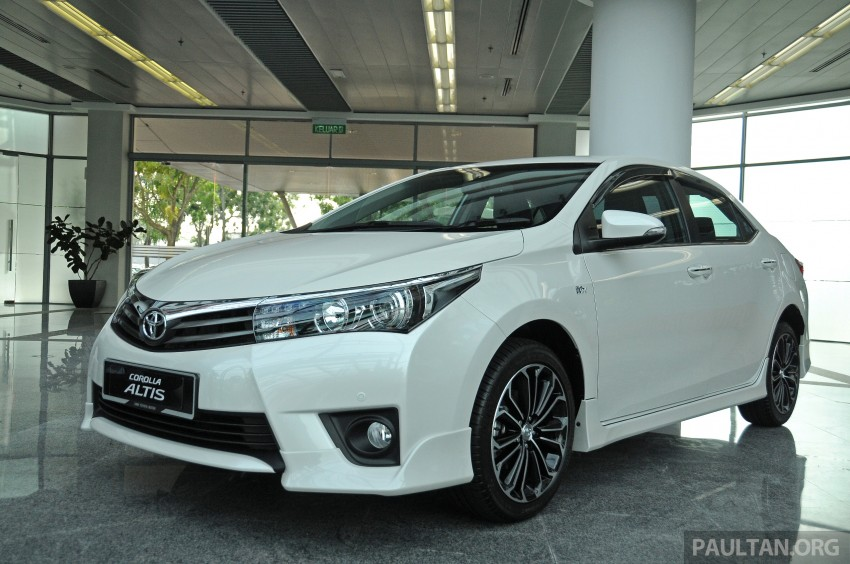 GALLERY: 2014 Toyota Corolla Altis – preview pics Image #222296