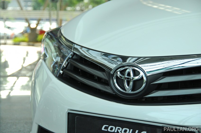 GALLERY: 2014 Toyota Corolla Altis – preview pics Image #222289
