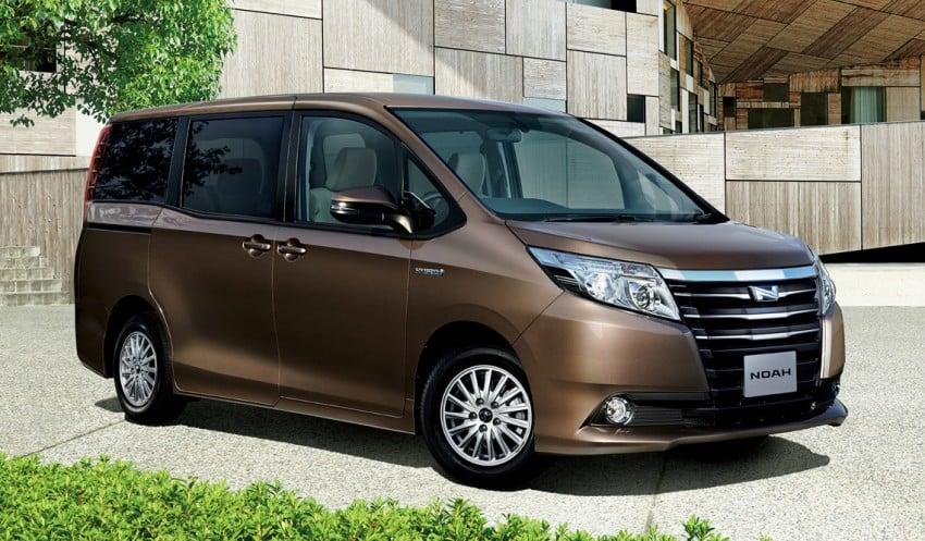 2014 Toyota Noah and Voxy – 1.8L hybrid, 23.8 km/l Image #223708