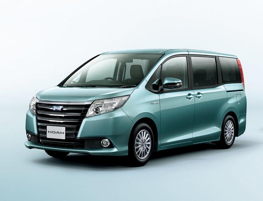 2014 Toyota Noah and Voxy – 1.8L hybrid, 23.8 km/l Image #223709