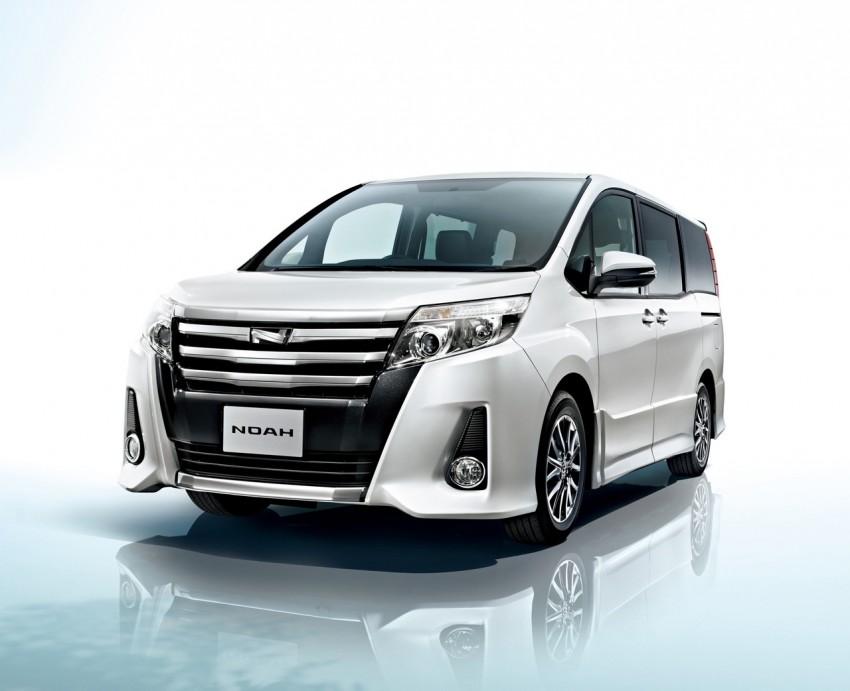2014 Toyota Noah and Voxy – 1.8L hybrid, 23.8 km/l Image #223714