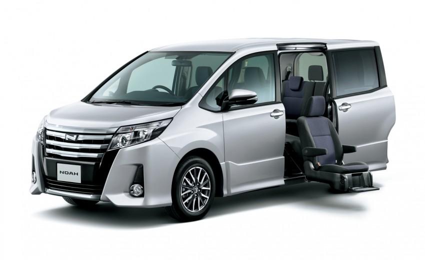 2014 Toyota Noah and Voxy – 1.8L hybrid, 23.8 km/l Image #223715