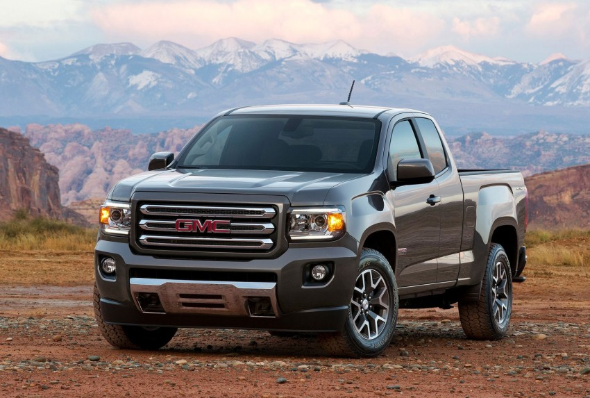 2015 GMC Canyon – macho mid-size American truck Image #221689