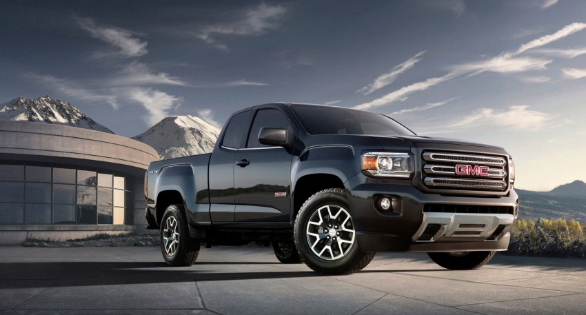 2015 GMC Canyon – macho mid-size American truck Image #221691