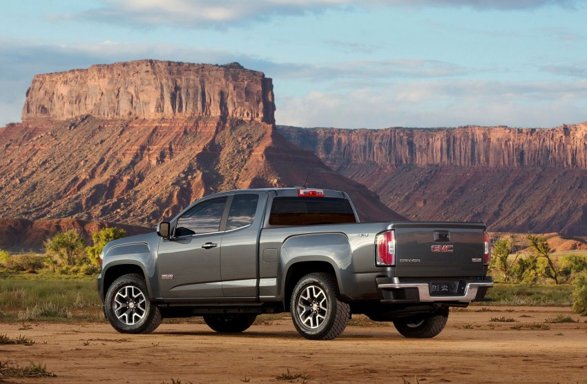 2015 GMC Canyon – macho mid-size American truck Image #221693