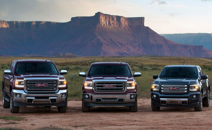 2015 GMC Canyon – macho mid-size American truck Image #221696