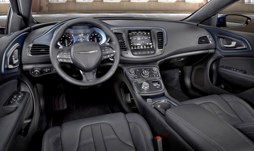 2015 Chrysler 200 – new American D-segment sedan Image #221194