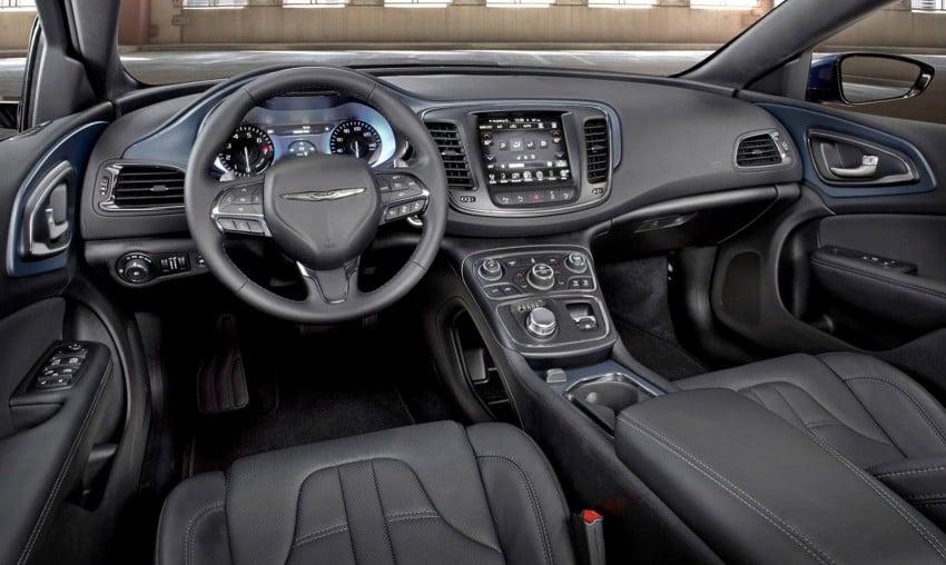 2015 Chrysler 200 – new American D-segment sedan Image #221194