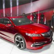 2015 Acura TLX Prototype Introduced at 2014 NAIAS