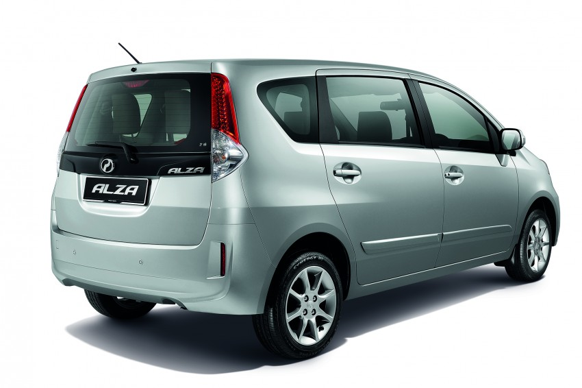 Perodua Alza facelift officially revealed, from RM52,400 Image #221527