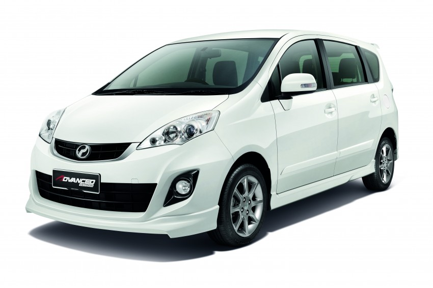 Perodua Alza facelift officially revealed, from RM52,400 Image #221499