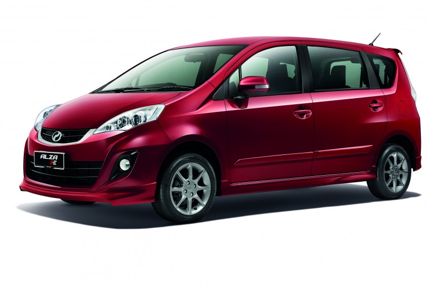 Perodua Alza facelift officially revealed, from RM52,400 Image #221522