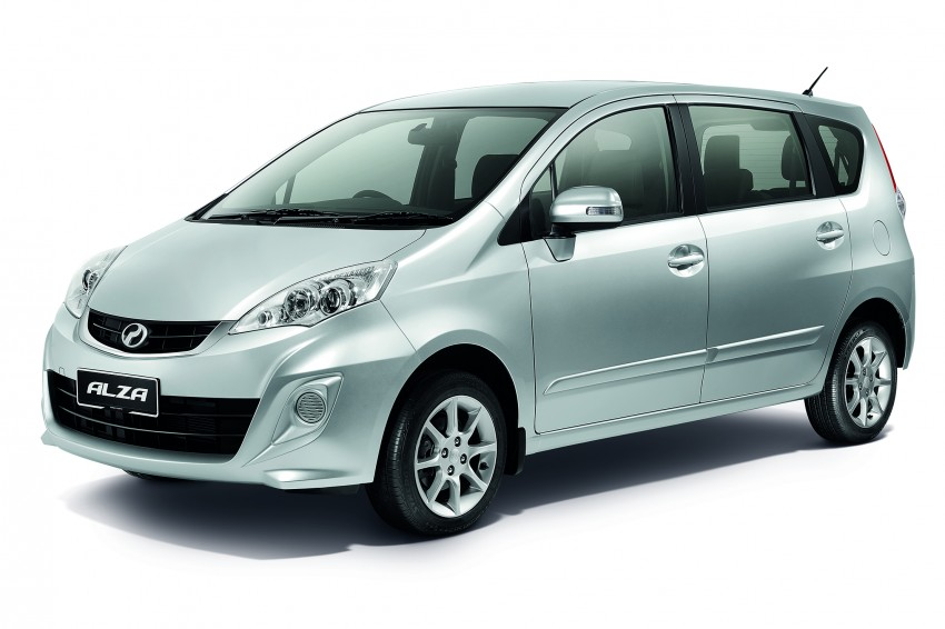 Perodua Alza facelift officially revealed, from RM52,400 Image #221528