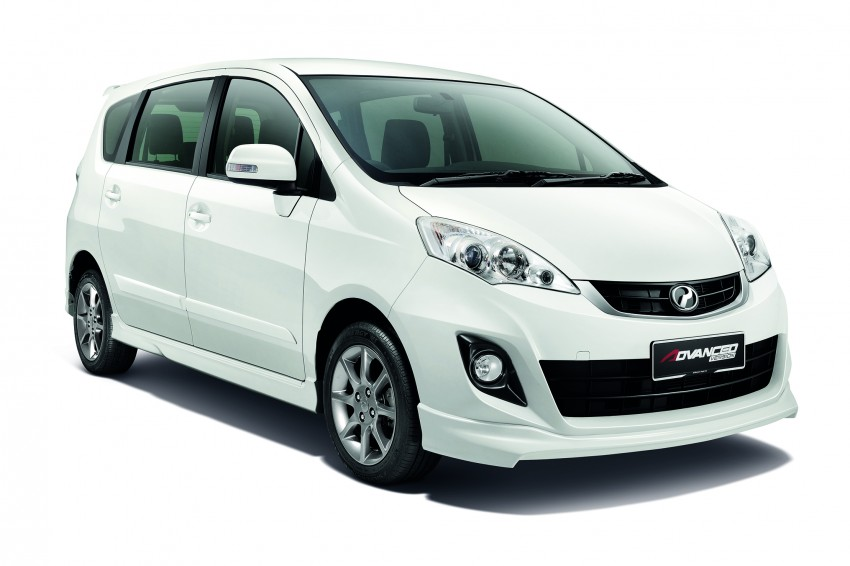 Perodua Alza facelift officially revealed, from RM52,400 Image #221501