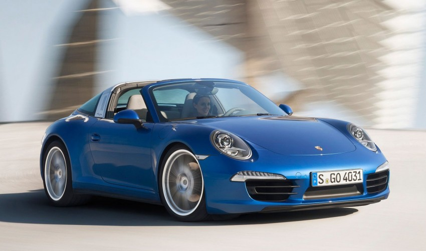Porsche 911 Targa 4 and 4S (991) debut in Detroit Image #222113
