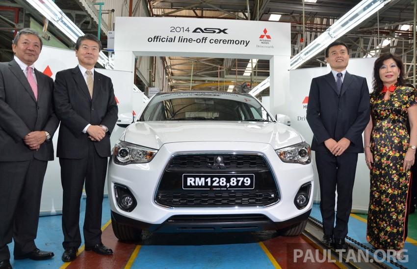 Mitsubishi ASX CKD rolls off TCMA Segambut line Image #223455