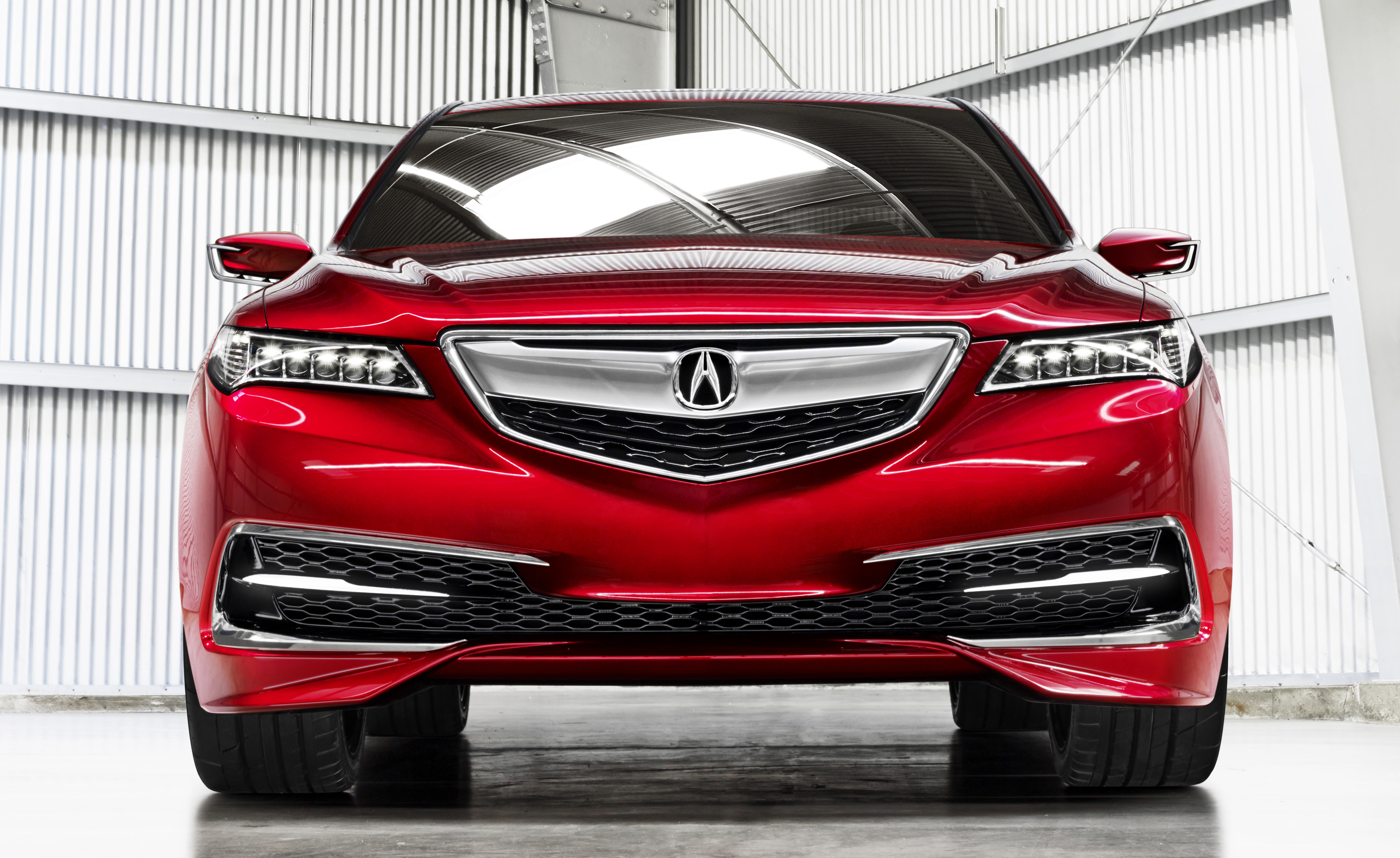 acura tlx prototype previews all new 2015 model. Black Bedroom Furniture Sets. Home Design Ideas