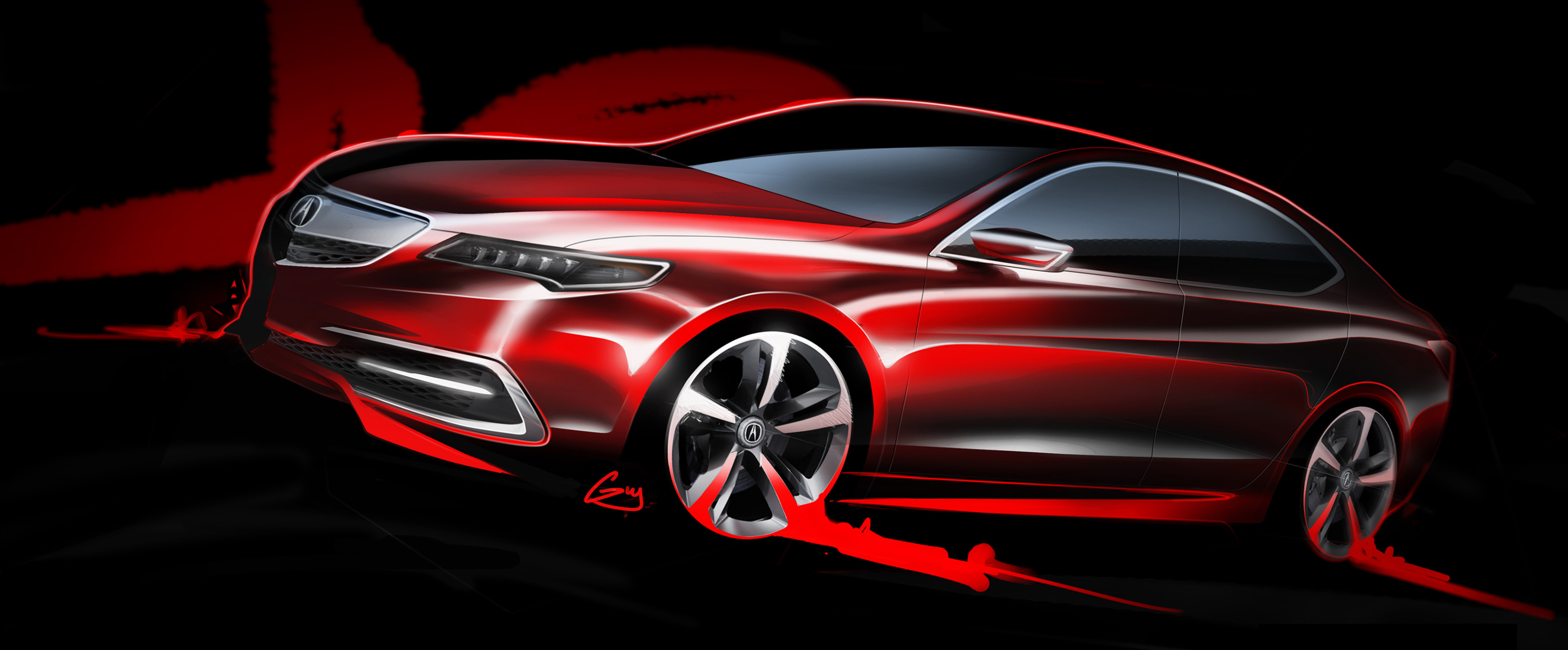 Acura Tlx Prototype Previews All New 2015 Model Paul Tan