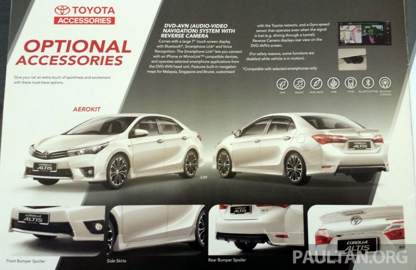 2014 Toyota Corolla Altis officially launched Image #223348