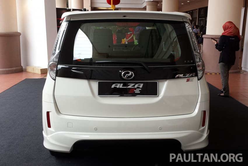 Perodua Alza facelift officially revealed, from RM52,400 Image #221429