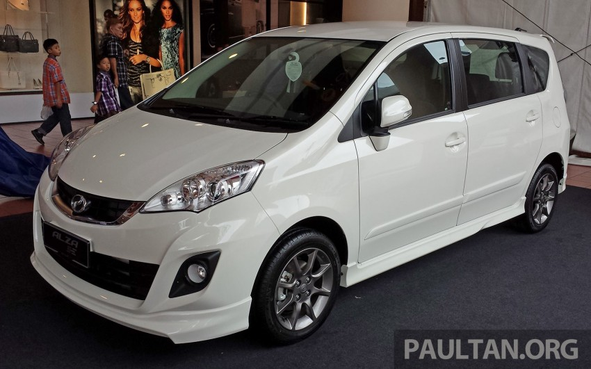 Perodua Alza facelift officially revealed, from RM52,400 Image #221430