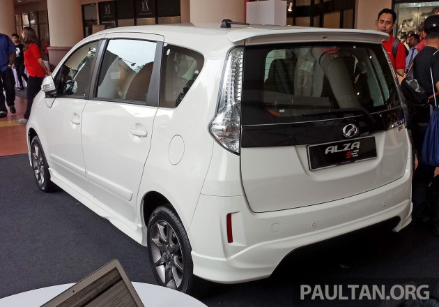 Perodua Alza facelift officially revealed, from RM52,400