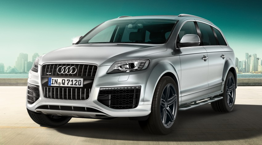 Audi Q7 S line Style and Sport Editions come about Image #224613