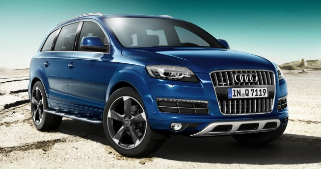 Audi Q9 Flagship Considered No Four Ringed City Car