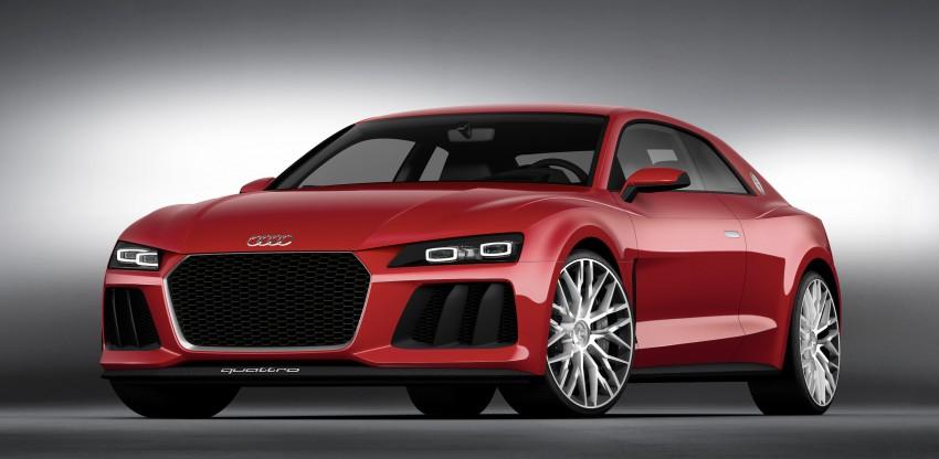 Audi Sport quattro laserlight concept welcomes 2014 Image #219988