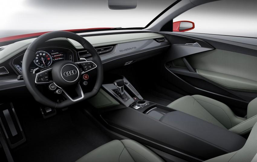 Audi Sport quattro laserlight concept welcomes 2014 Image #219991